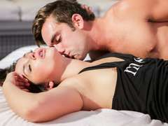 Stunning Allie Haze gets her fur covered cunt cutely screwed in all angles