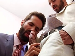 Horny homosexual dudes getting banged on cam