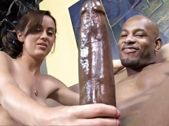 Verga grande, Sexo duro, Interracial
