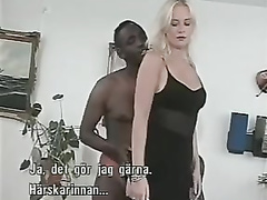 Norwegian nymph interracial