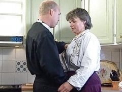Swedish GILF Martha Karlsson gets down and dirty the priest (2 scenes)