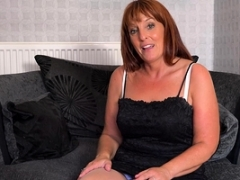 EuropeMaturE Beau Diamonds Erotically attractive Masturbation