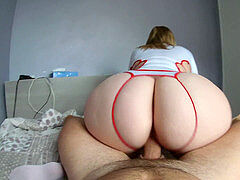 The return nurse pawg Nini_Divine with her thick rump !