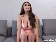 Calendar Audition Big Breast 19 Year in POV Porn