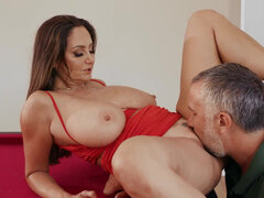 Sex-deprived Ava Addams cheating on her husband