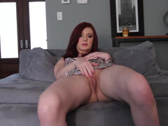 This tattooed cock tease loves playing with herself while the camera is rolling