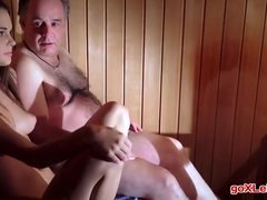 Baby Jewel Sex In Sauna