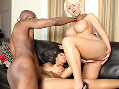 Filthy Milfs Pleased With A Black Cock