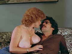 Ginger Vintage Pornstar With Big Boobs Seduces Brutal Man