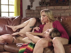 GirlGrind - Dirty little Haley Reed talks her milf conv - julia ann