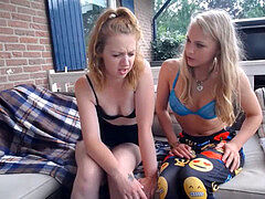 Stepsisters Have sex live on www.girls4cock.com