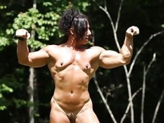 Muscle female nude