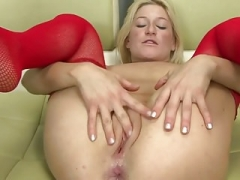 blonde whore deep analized by BBC