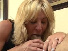 Positively stepmommy gets her ass banged