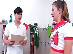 Allie Haze banged in lockerroom