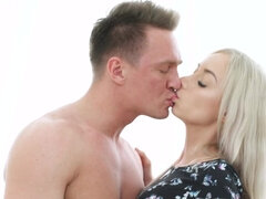 Sensual oral and anal sex for amateur russian blonde Stefy Shee
