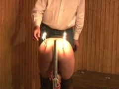 muff torture in bdsm scenes film