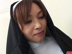 First hardcore experience for Japan nun, Hitomi Kanou