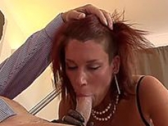 Sweet gal enjoys steaming sex