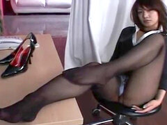 super-hot asian pantyhose (Softcore)
