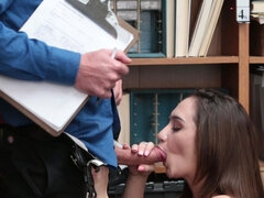 Lily Jordan forced to have sex with kinky LP officer