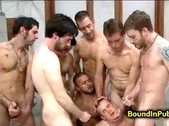 Grupa orgia gejów