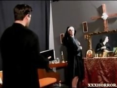 XXXHorror - Nun Sky in Father Save Me (Madam Sky)