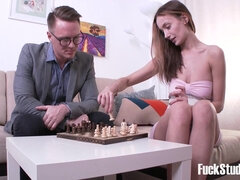 Chess Game Turns Into Love Making - hazel dew