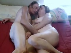Mature couple having wild sex for homemade porn clip