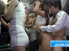 Amazing Japanese Teenager Gets On The Bus