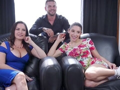 Devious Dana DeArmond Trains Her Step-Daughter For Anal Whore Service