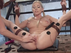 Anal Electrodomination: Chanel Preston vs. Christie Stevens