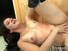 Ava Addams welcomes Sheena Ryder to the vicinity with Lezbo hump