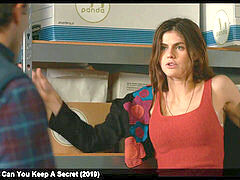 Alexandra Daddario spectacular and nasty movie vignettes