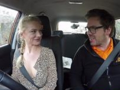 Fake Driving School Blonde Polish girls pussy gets slammed