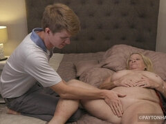 Young Cutie CREAMPIE - Granny Has a Mole (BIG-BONED VIDEO) - payton hall