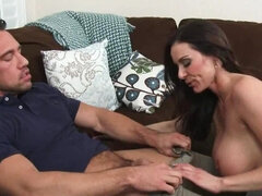 Hot milf is fucking her married neighbor