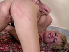 Tiny blonde slut needs a merciless Master