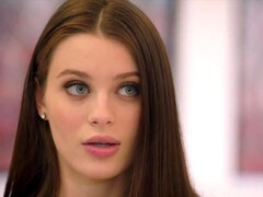Young escort Lana Rhoades has her first double penetration