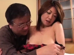 Boob Japanese hairy pussy fingering