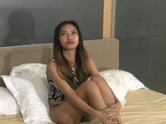 Tiny Filipina Mom i`d like to fuck moans loudly for white dick