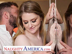 mischievous America - Bunny Colby orders her some appetizing cock