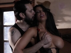 Bedroom dominating playdate for curvy MILF Romi Rain