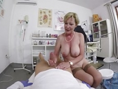 bushy 71 years mature mom point of view fucked by her doctor