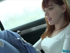Public Agent (FakeHub): German Redhead Loves Cock