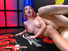 guiltless looking Lia Louise is a orgy Maniac - German Goo femmes