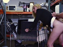 Blonde Mom i`d like to fuck fucked by pervert pawn lad