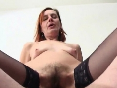 Shaggy Russian aged anal sex