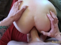 OUTSTANDING POINT OF VIEW Ass-Fuck with Ample DONK Chinese Gf