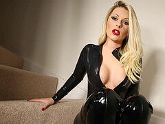 latex Catsuit Blackmail